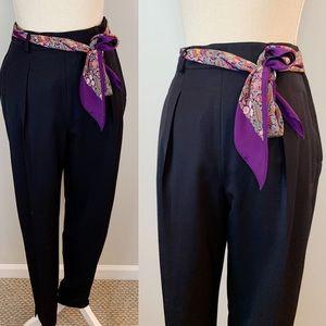 VTG Escada High Waisted Pleated Trousers